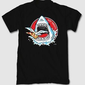 Riot Society Shark Attack Pizza Shirt